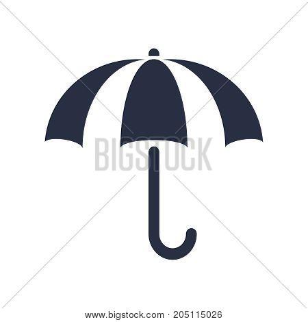 Umbrella icon in trendy flat style isolated on background. Umbrella icon page symbol for your web site design Umbrella icon logo, app, UI. Umbrella icon Vector illustration, EPS10.