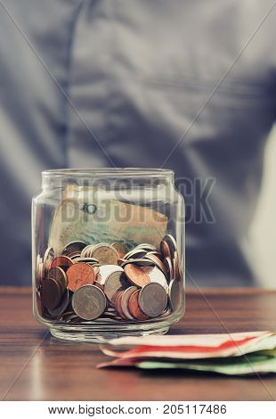 Save Money And Account Banking For Finance Business Concept