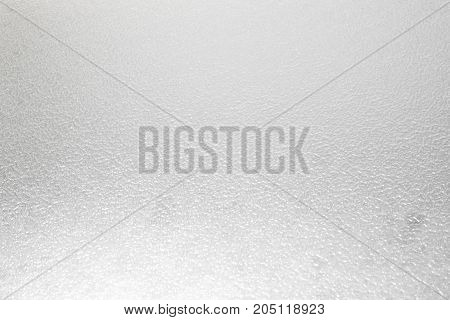 Frosted glass texture as background white color