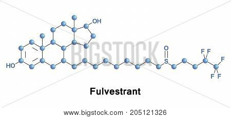 Fulvestrant is a medication used to treat hormone receptor HR-positive metastatic breast cancer in postmenopausal women with disease progression