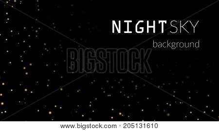 Night Stars Sky Background