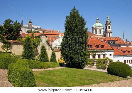 Prague Vrtba Garden (Vrtbovska Zahrada)
