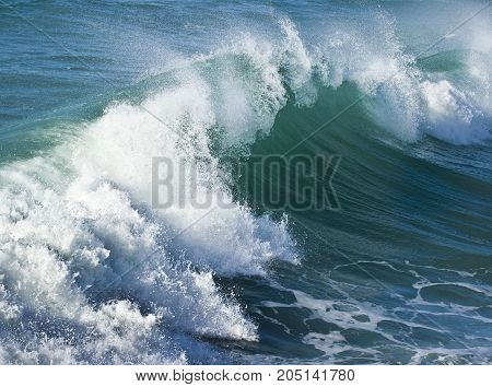 A medium powerful wave at Dominican Republic.