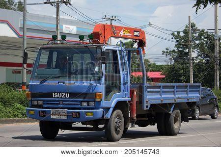 Unic V340 Crane On Private Truck