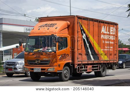 Container Truck Of Allied Company