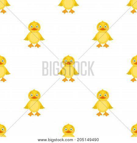 Duckling, single icon in cartoon style.Duckling, vector symbol stock illustration .
