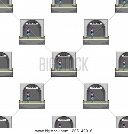 Apron, single icon in cartoon style.Apron, vector symbol stock illustration .