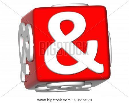 3D Ampersand Mark