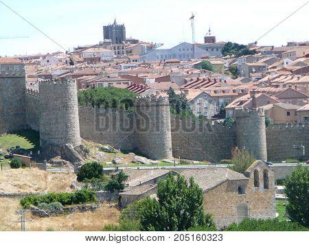 Avila Town Walls