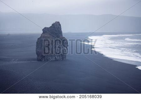 Black Beach Dyrholaey, Iceland