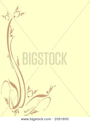 Floral Foliage Leaf Ornamental Art