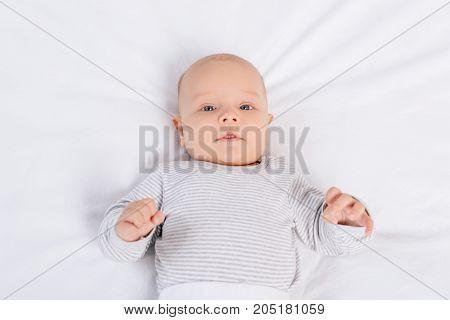 Innocent Caucasian Baby