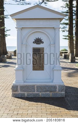 War Memorial, Victor Harbor, South Australia