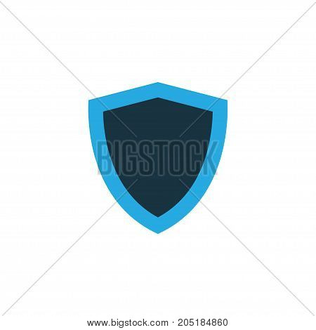 Premium Quality Isolated Safe Element In Trendy Style.  Protect Colorful Icon Symbol.
