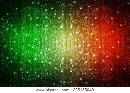 Digital Abstract technology background, cyber space background