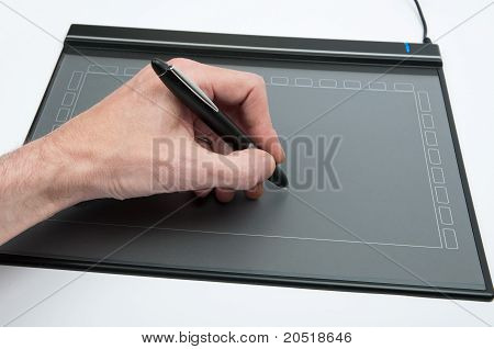 Drawing With Tablet