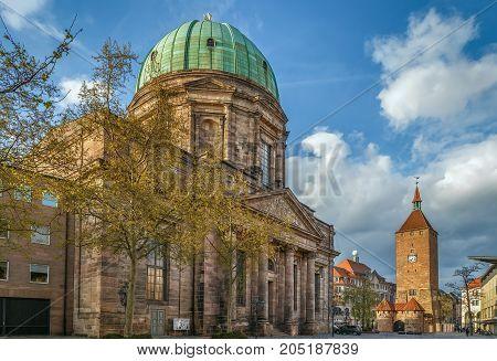 St. Elizabeth's is a Roman Catholic church in Nuremberg Germany