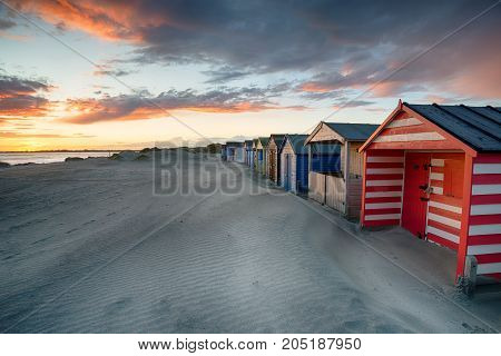 Sunset At West Wittering In Sussex