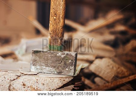 Sledge Hammer Close Up