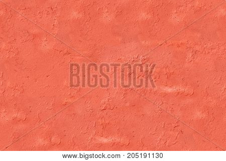 Modern abstract painted Orange street stone wall, seamless texture