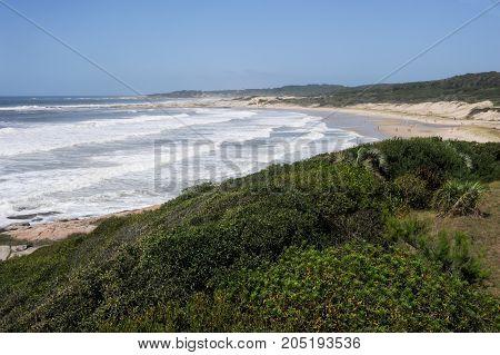 Beach Of Achiras On Santa Teresa National Park