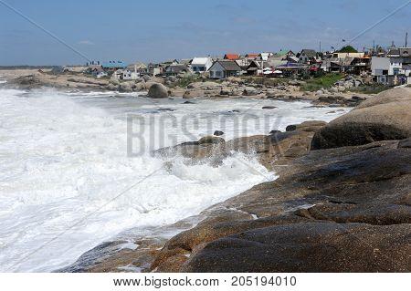 Punta Del Diablo Beach In Uruguay