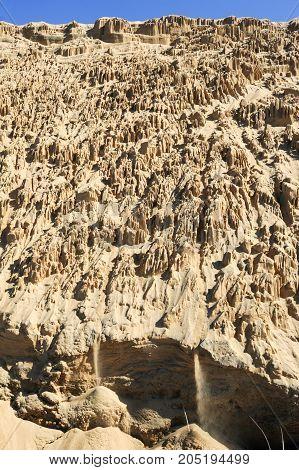 The Sand Dunes Of Barra De Valizas