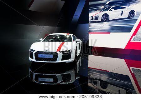 New Audi R8 V10 Rws Sports Car