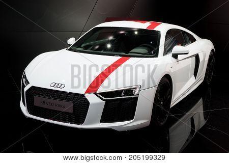 Audi R8 V10 Rws Sports Car