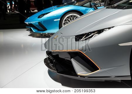 Lamborghini Huracan And Aventador S Roadster Sports Car