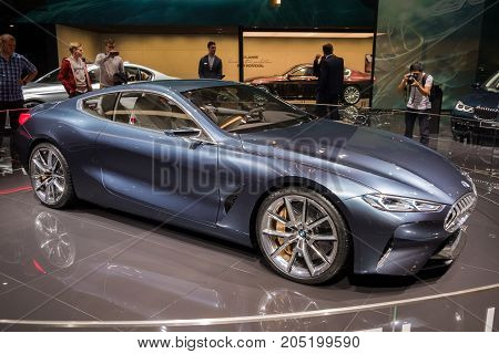Bmw Concept 8 Series Sports Car