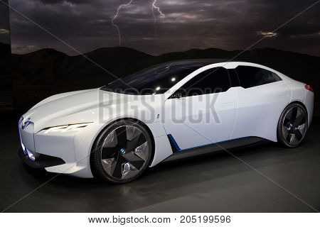 Bmw I Vision Dynamics Car
