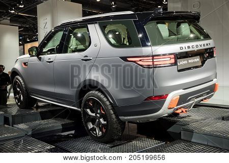 New Land Rover Discovery Svx Car