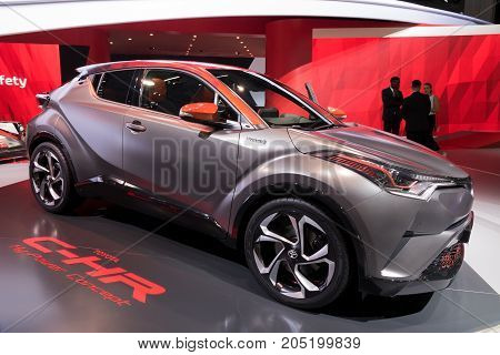 Toyota C-hr Hy-power Concept Car