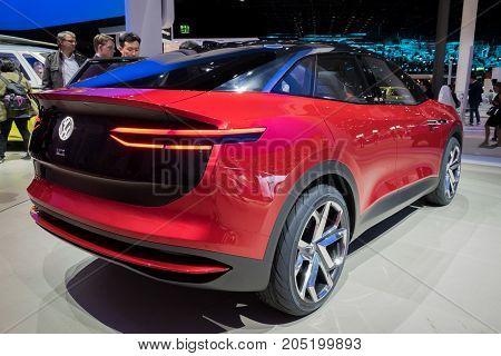 Vw I.d. Crozz Ii Concept Car