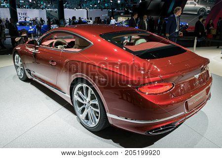 New 2018 Bentley Continental Gt Car