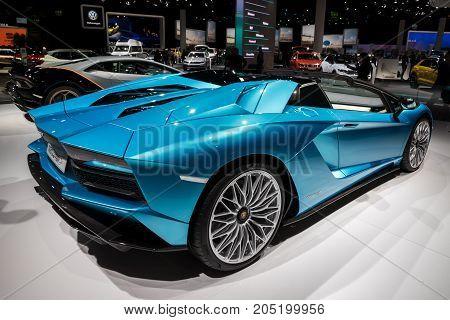 2018 Lamborghini Aventador S Roadster Sports Car