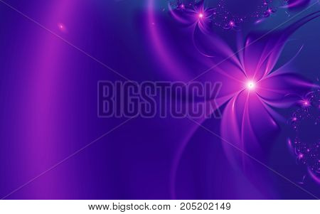 Fractal background with place for your text. illustration for your design