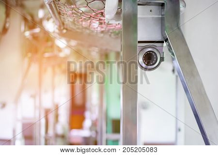 CCTV in the train With safety in travel
