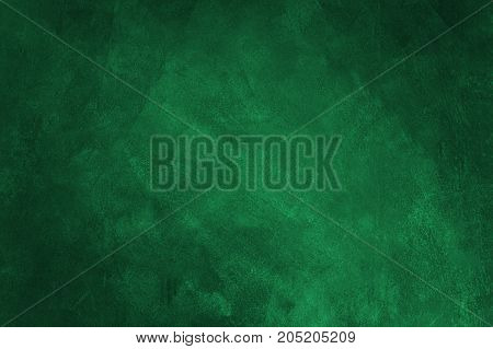 Abstract green background or green paper black vintage grunge background