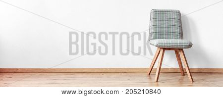 Lone Chair Standing In Room