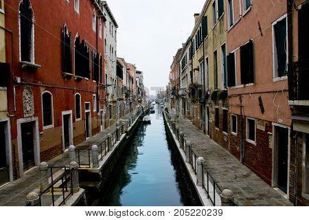 Panorama del Canal Grande di Venezia - Italia