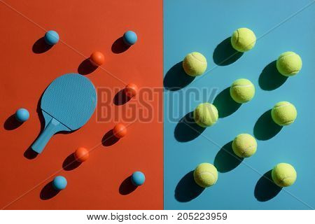 Ping Pong And Tennis Equipment