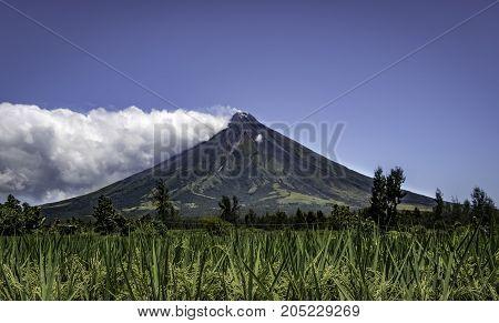 Mount Mayon Volcano, Legazpi City, Albay, Philippines