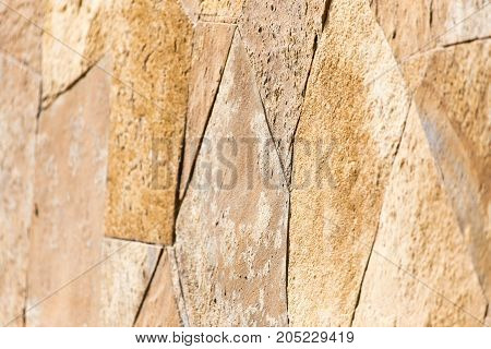 background of mosaic bricks . Photo as an abstract background
