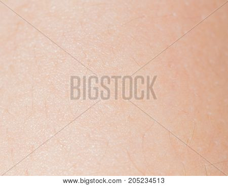 background of human skin . Photo as an abstract background