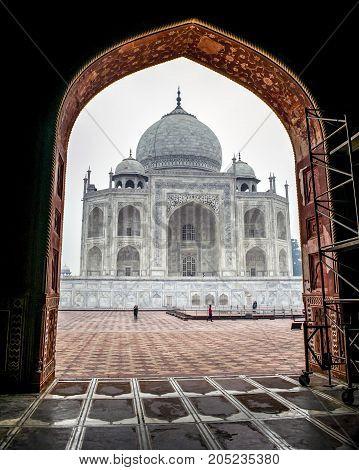 One of the seven wonders of the World - Taj Mahal, Agra.