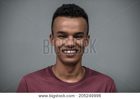 Afro American Guy