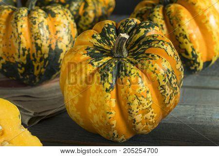 Raw Orange Conffeti Acorn Squash