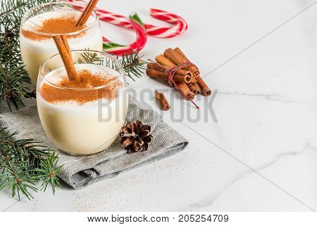 Traditional Christmas Drink Eggnog